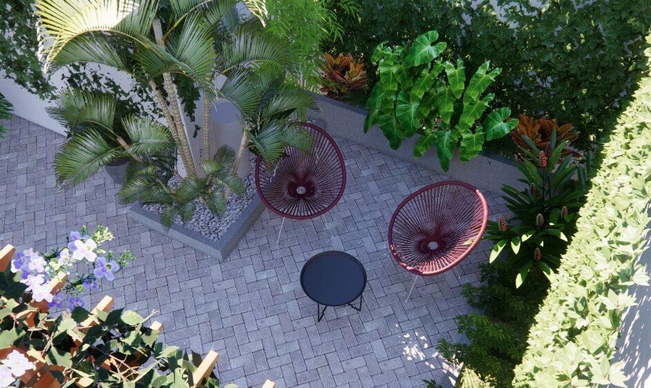 Diseño paisajismo en Managua, Nicaragua por Nova Jardines